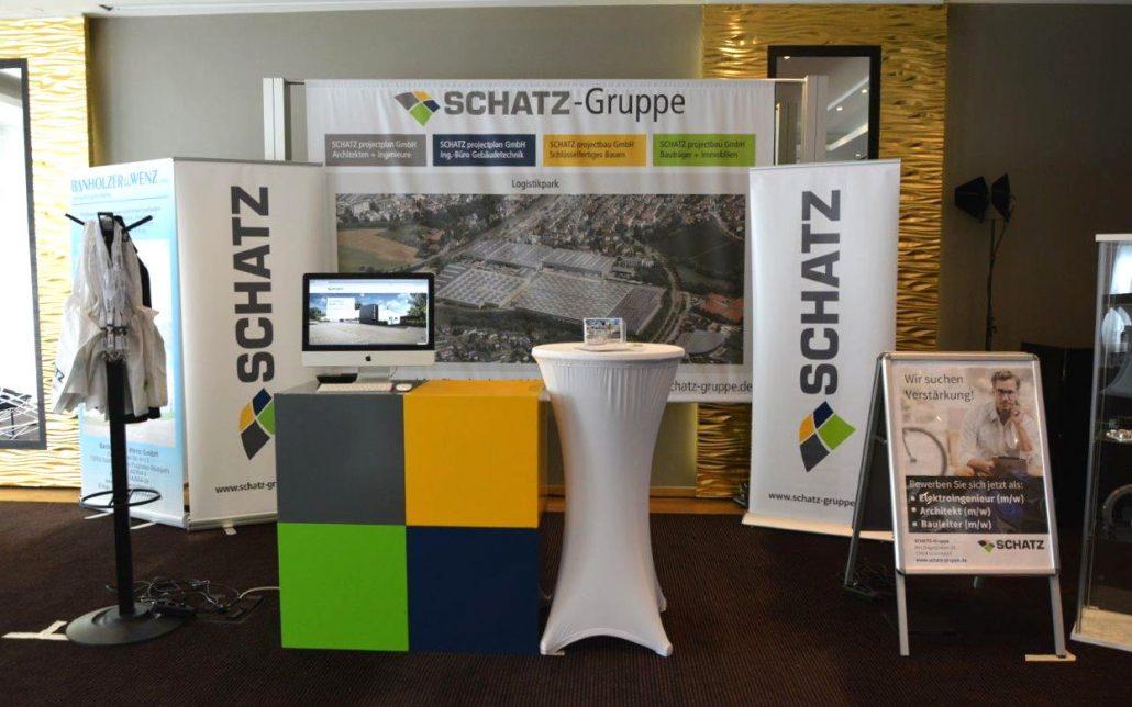 SCHATZ auf der B2B-Messe des Wirtschaftsjunioren Stuttgart e. V.