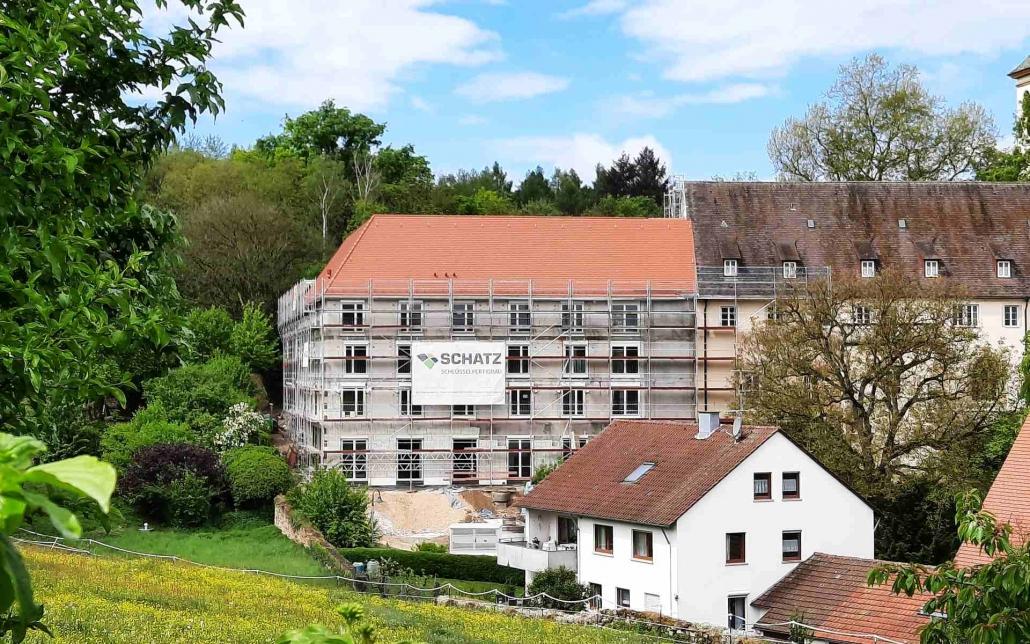 Baustellenreport Neubau Seniorenzentrum Kloster Denkendorf