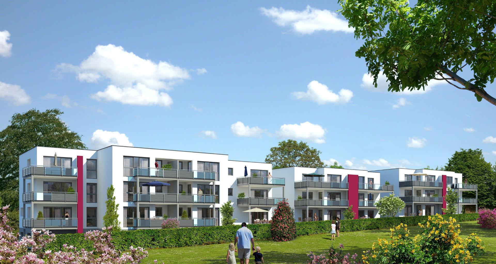 Neubau Wohnen am Park in Rechberghausen