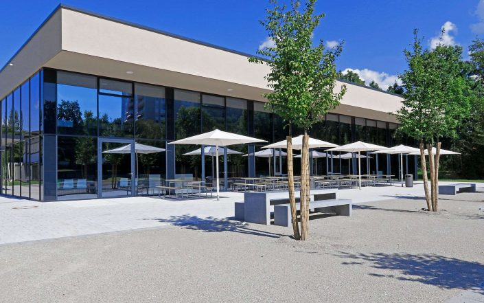 Neubau Schulmensa in Schorndorf - © Martin Rauch, 70597 Stuttgart