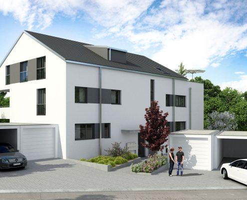 Neubau Mehrfamilienhaus in Stuttgart