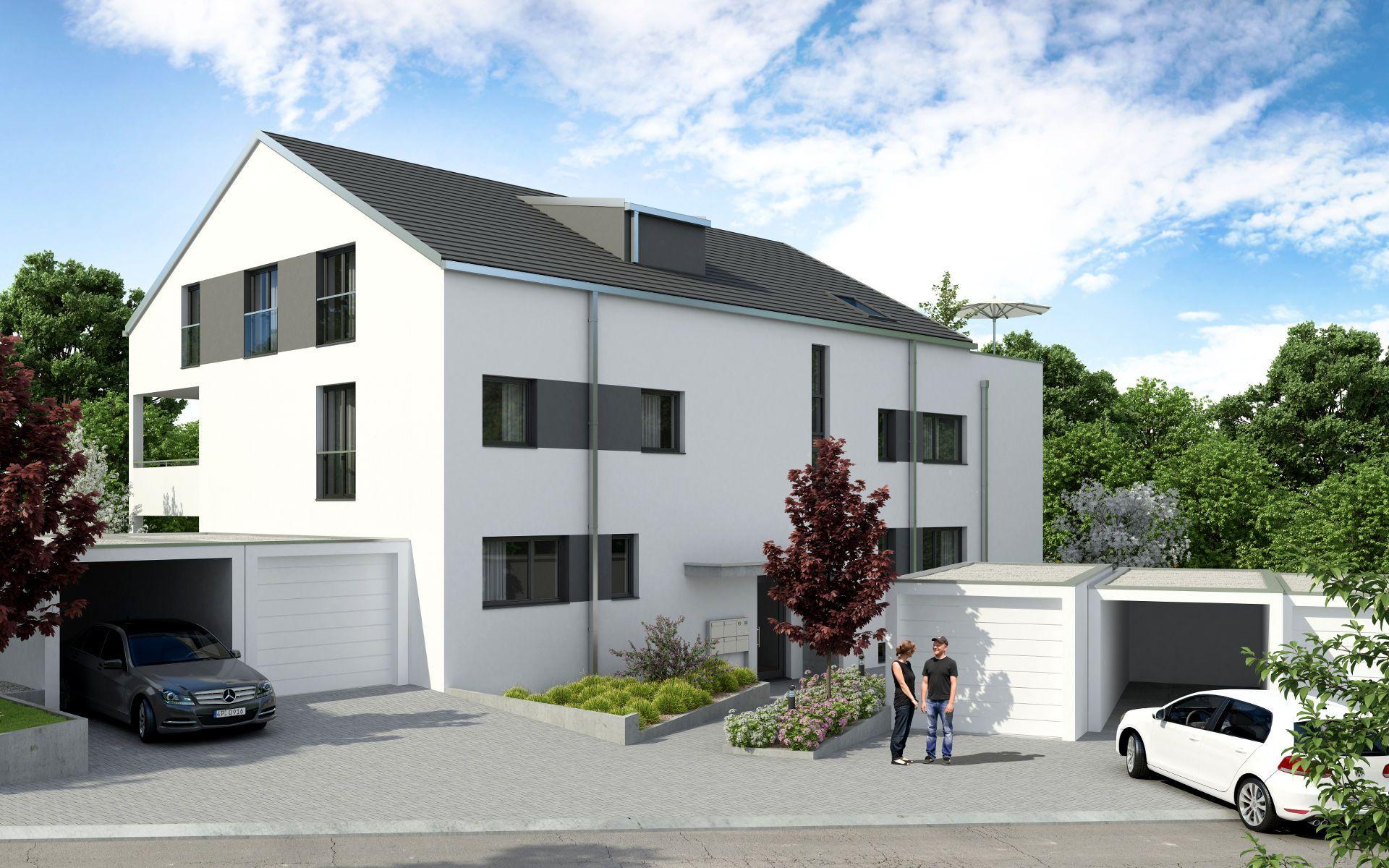 Neubau Mehrfamilienhaus in Stuttgart - SCHATZ-Gruppe