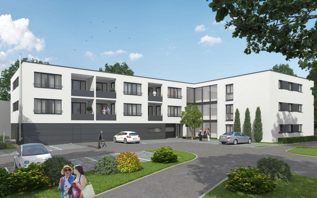 Neubau Wohnheim Betreutes Wohnen in Albershausen