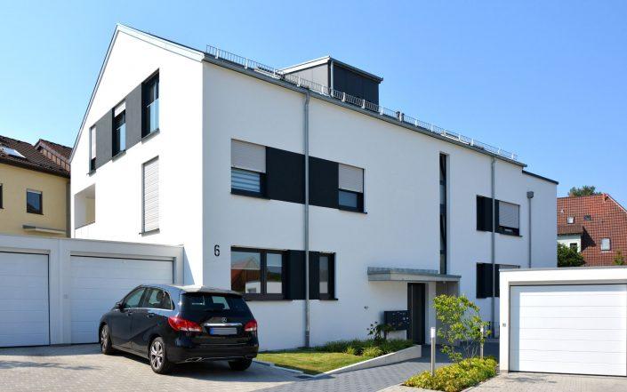 Neubau Wohnen Nähe Max-Eyth-See in Stuttgart-Hofen