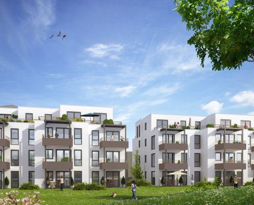 Neubau Wohnen im Aussichtsreich in Schwäbisch Gmünd