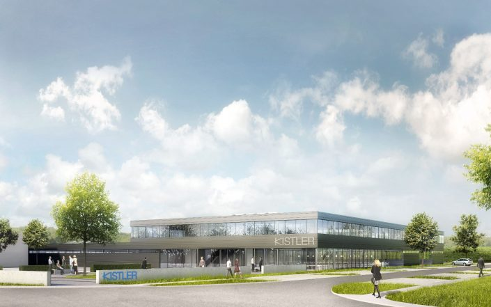 Nicht offener Wettbewerb Neubau Betriebsstätte Kistler Immobilien in Sindelfingen