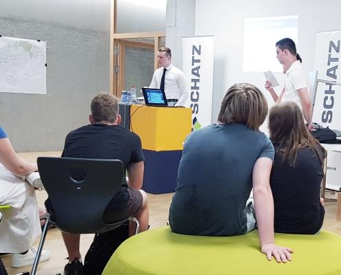 SCHATZ auf der Bildungsmesse des Burg-Gymnasiums in Schorndorf
