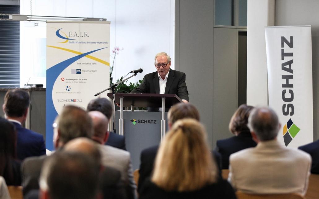 IHK Region Stuttgart zu Gast bei SCHATZ, Ulrich Schatz