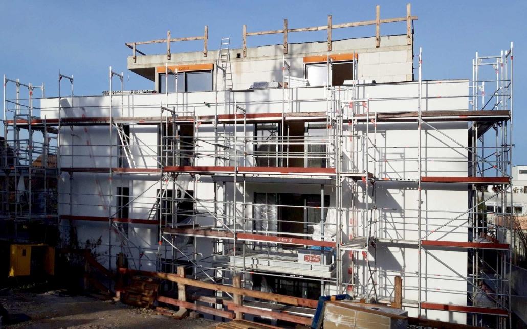 Baustellenreport Neubau Mehrfamilienhaus in Schorndorf