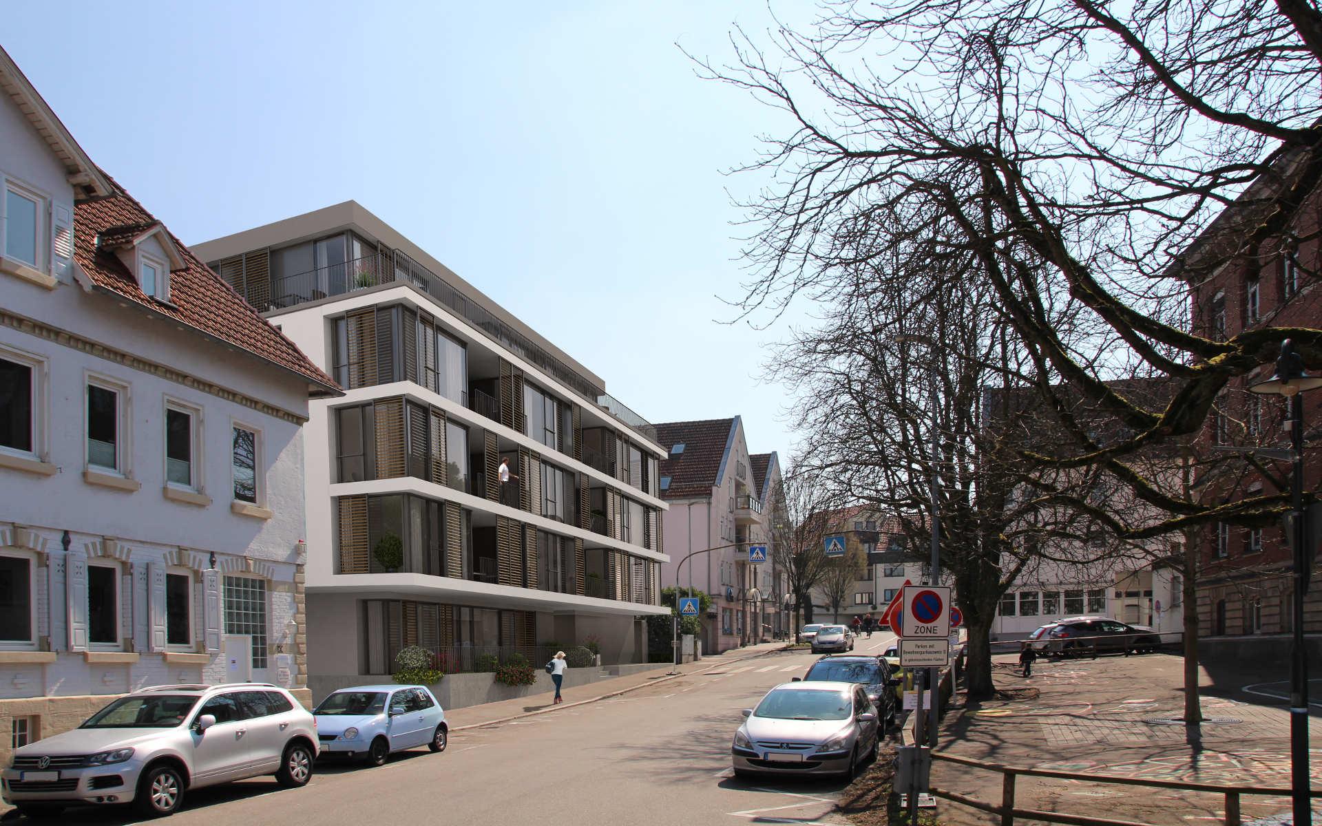 Neubau mehrfamilienhaus in schorndorf schatz gruppe for Mehrfamilienhaus neubau