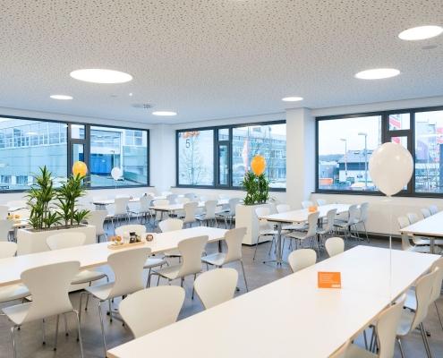 Umbau Lagerhalle zu Betriebsrestaurant in Stuttgart, © LAPP Immobilien GmbH