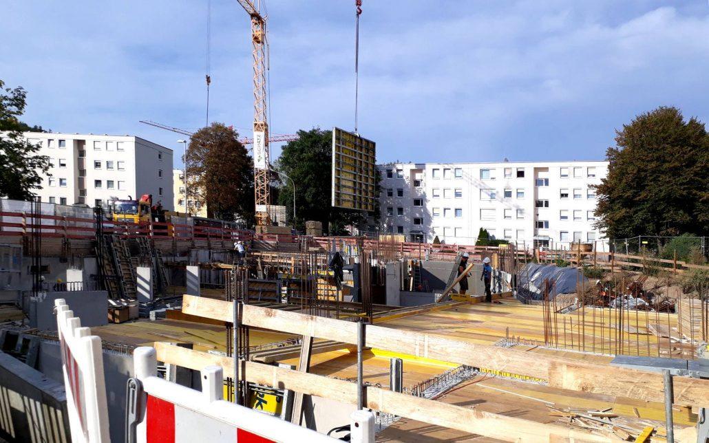 Baustellenreport Neubau Mehrfamilienhaus in Winnenden