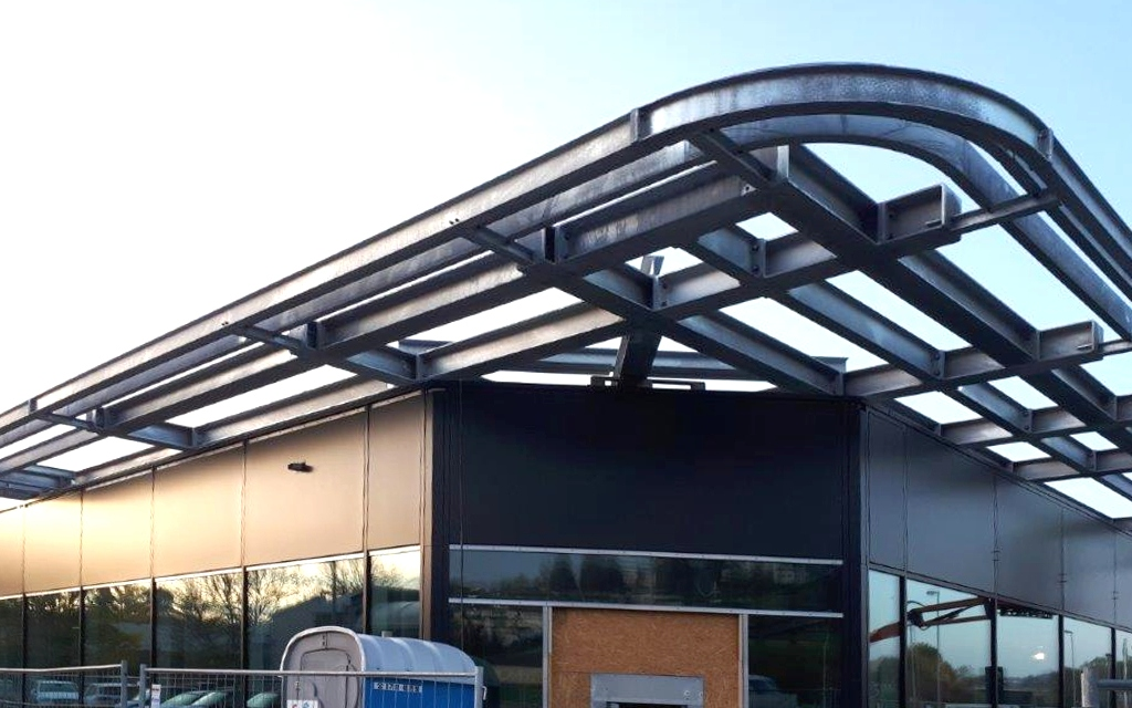 Baustellenreport Umbau/Erweiterung Mercedes-Benz-Autohaus in Uhingen