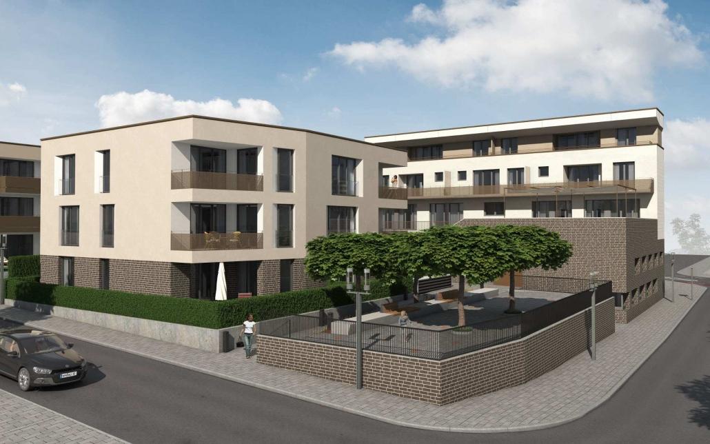 Neubau Kita und Mehrfamilienhäuser in Waiblingen