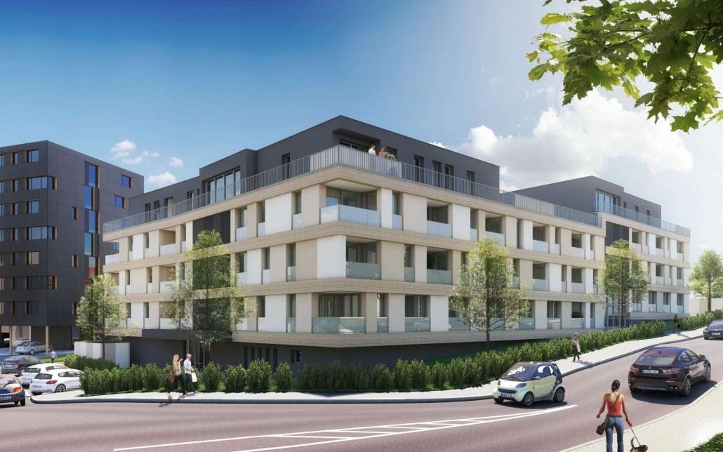 Neubau Apartmenthaus in Winnenden