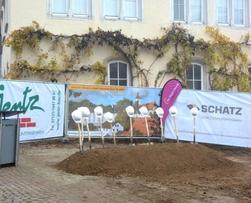 """Artikel """"Neubau Seniorenzentrum Kloster Denkendorf"""", Spatenstich"""