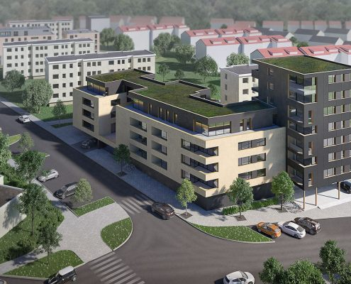 Neubau Mehrfamilienhaus in Winnenden