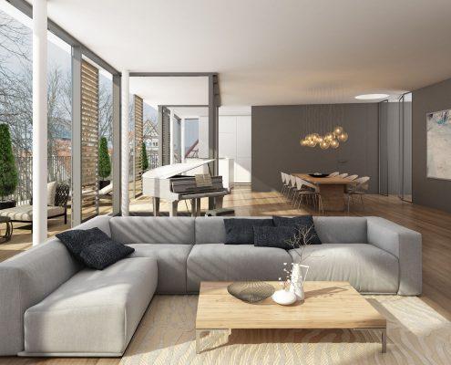 Neubau Mehrfamilienhaus in Schorndorf