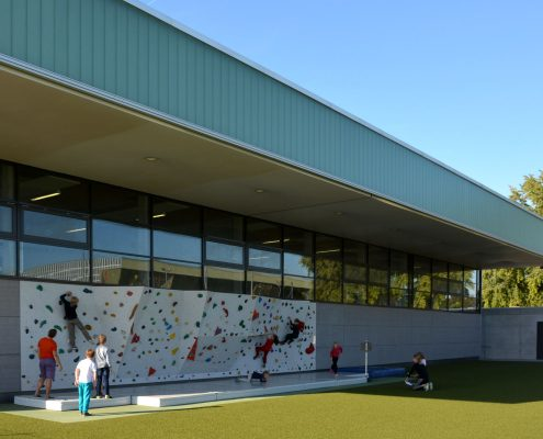 Neubau Ehrmann-Sportzentrum in Tübingen
