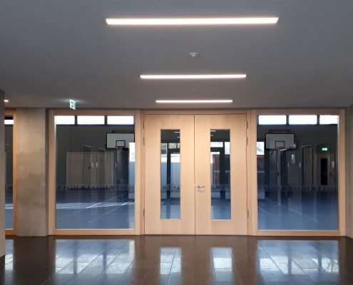 Neubau Turnhalle in Ludwigsburg