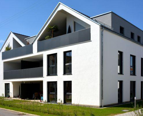 Neubau Mehrfamilienhäuser in Schorndorf-Weiler