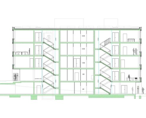 Neubau Bürogebäude in Leonberg