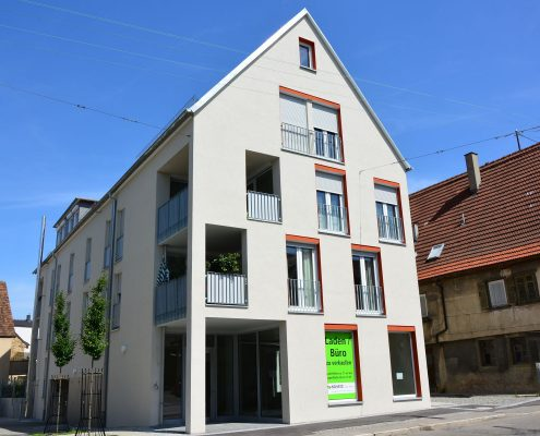 Neubau Wohnen an den Lemppschen Gärten Fellbach