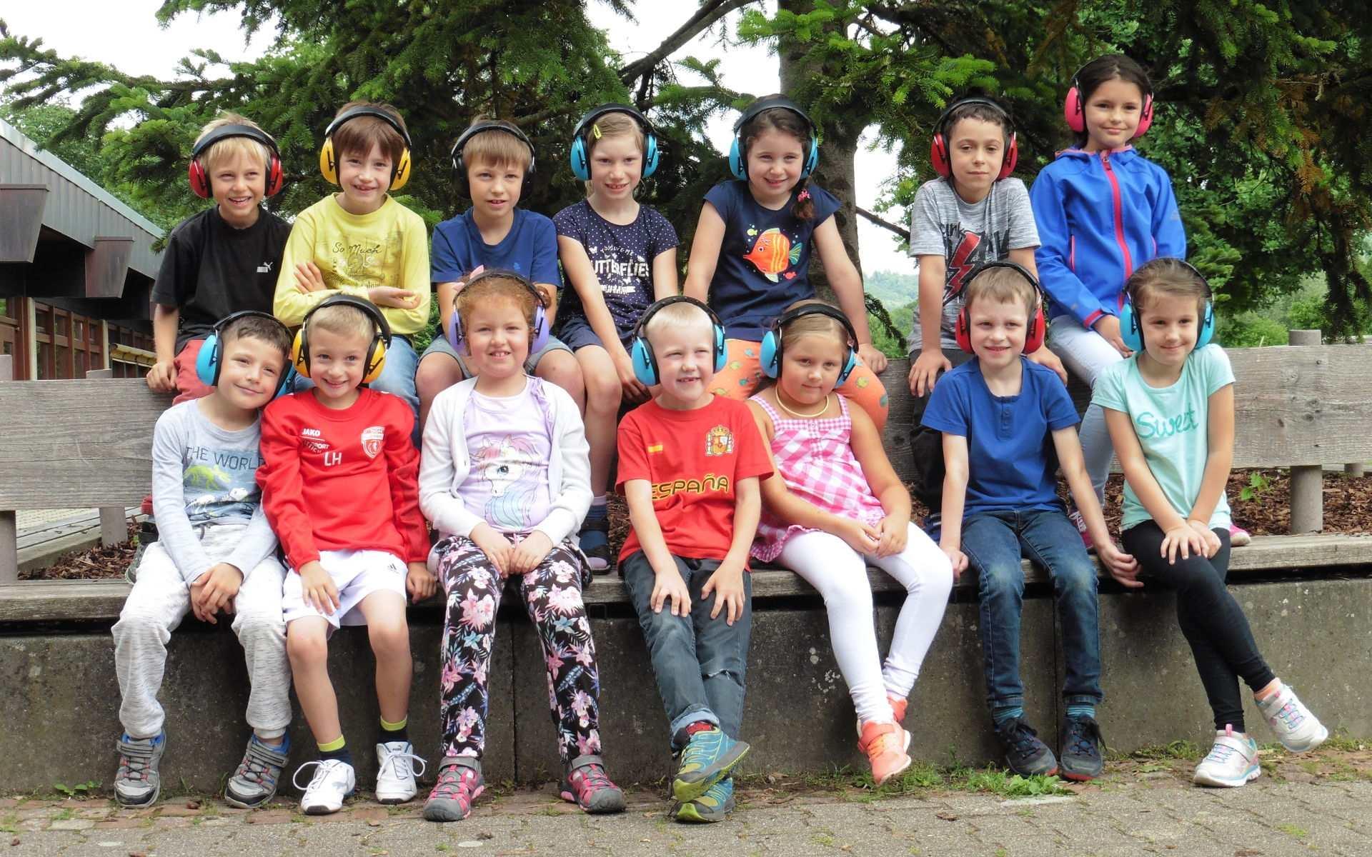Klasse 1b der Grundschule Auenwald-Unterbrüden
