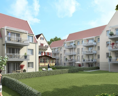 Neubau Mehrfamilienhäuser in Schwäbisch Gmünd