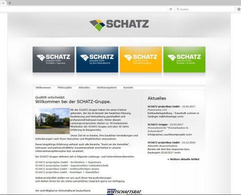 Screenshot Website 07/2010 - 08/2017