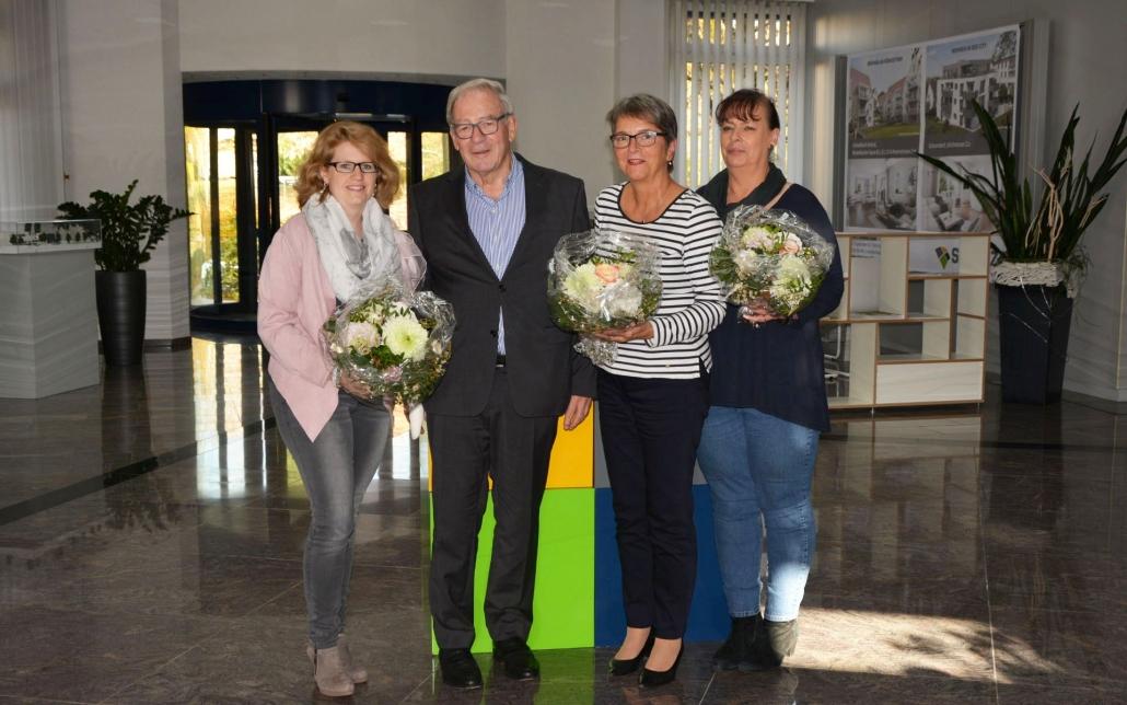 v. l. n. r.: Katja Weckerle, Ulrich Schatz, Andrea Reichel, Petra Wiedmann